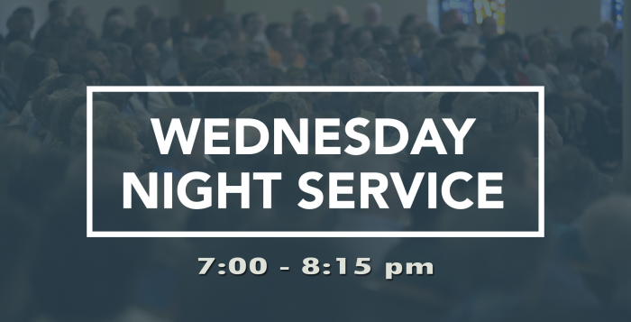 Wednesday Night Service Banner